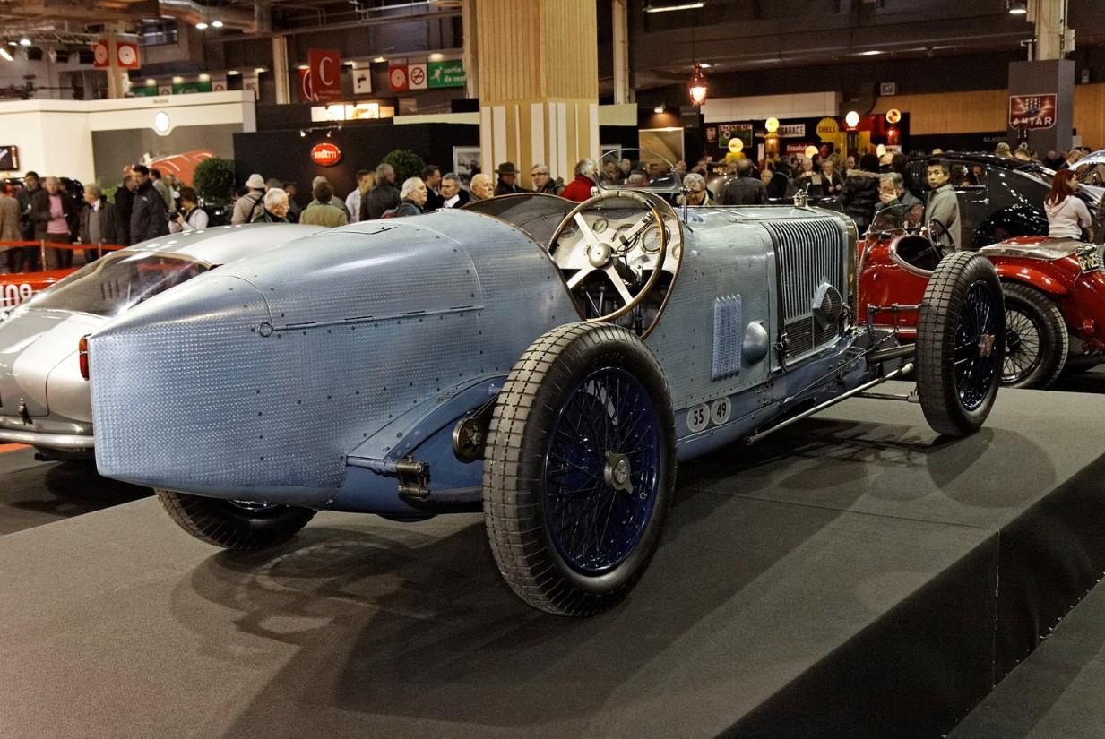 Le Delage 2LCV V12 de 1924
