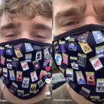 Les Anti Masques Obligés De Se Masquer Par Un Utilisateur Bisexuel