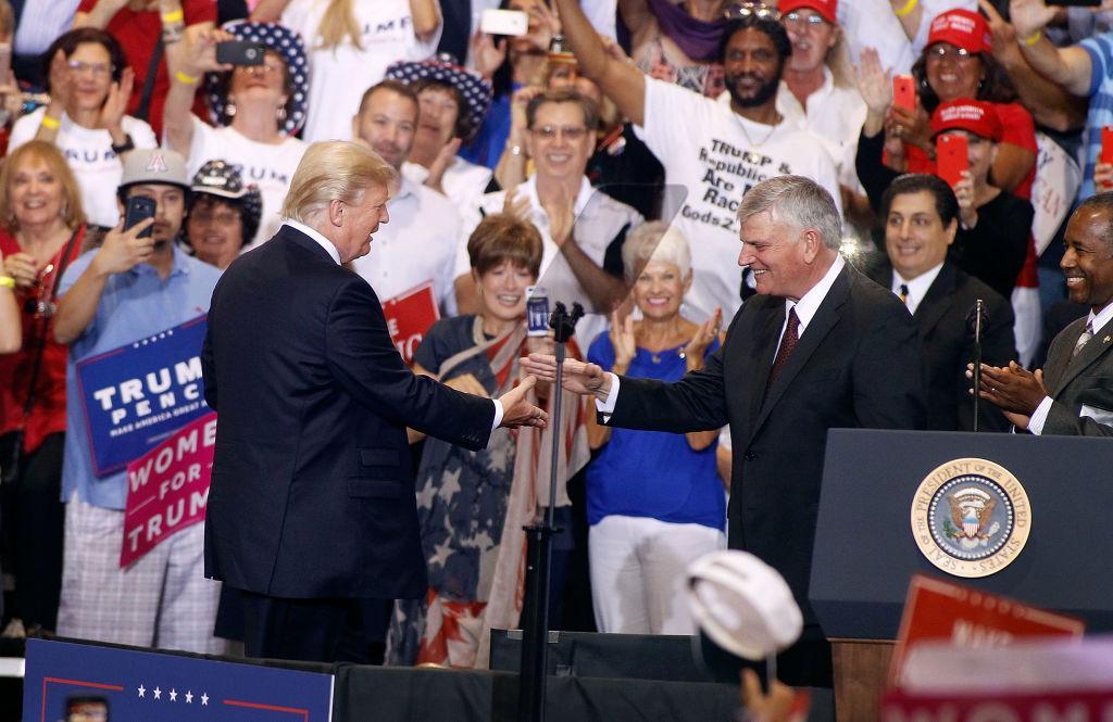 Franklin Graham Prendra La Parole à La Convention Nationale Républicaine