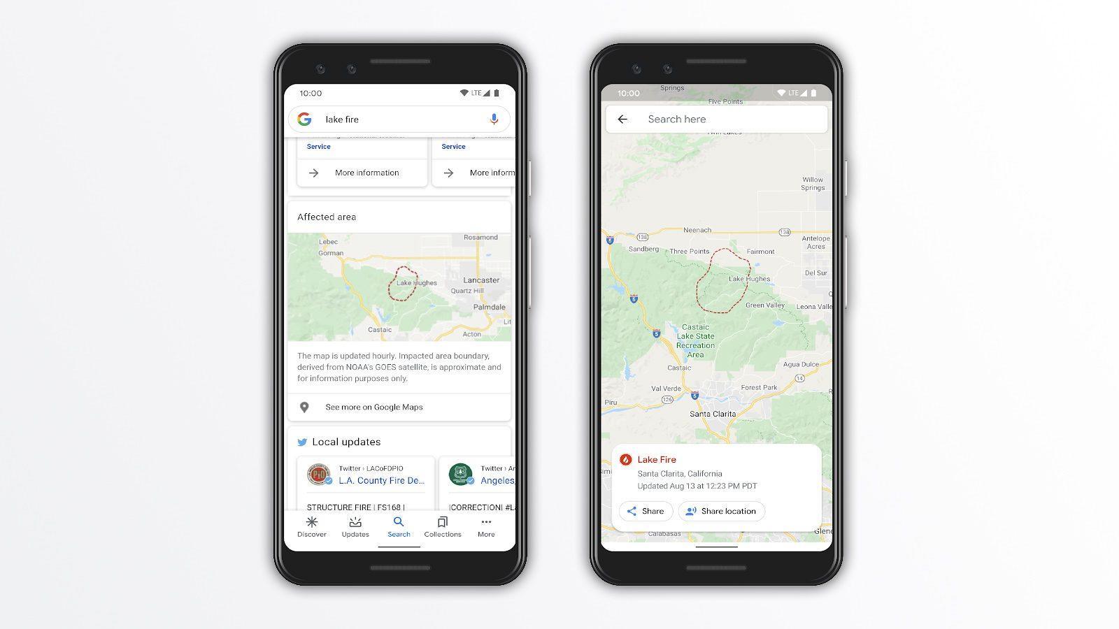 À Partir D'aujourd'hui, Google Maps Affiche Des Informations Sur Les