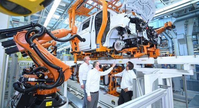Volkswagen Prépare La Production D'id.buzz Et Du Nouveau Multivan