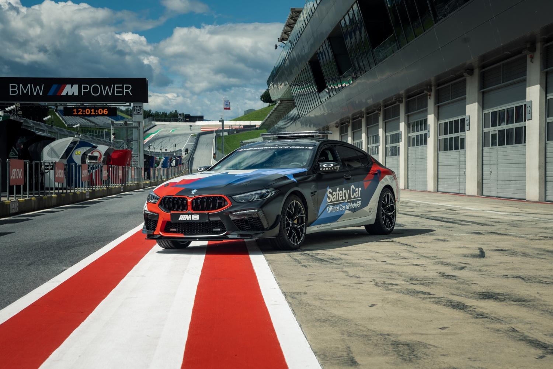 BMW M8 Gran Coupé MotoGP Safety Car