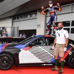 Victoire De Miguel Oliveira Accompagnée D'une Nouvelle Bmw M4 Gran