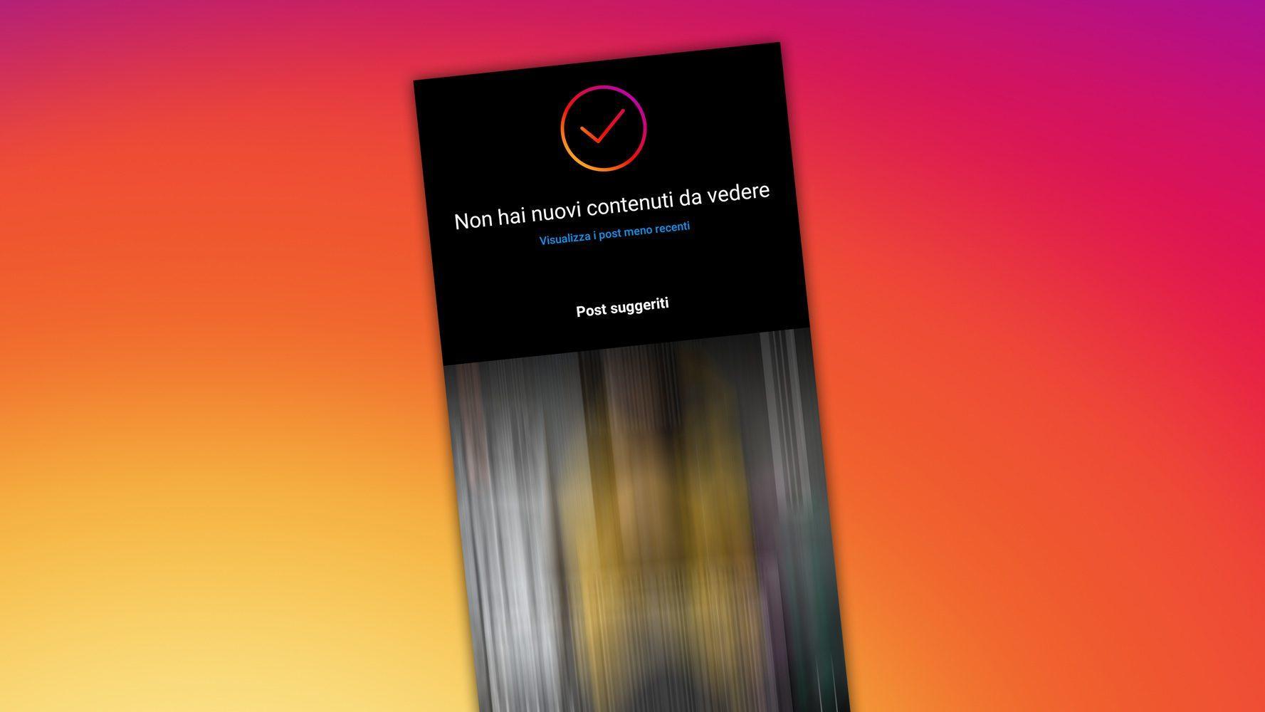 Les Publications Suggérées Arrivent Sur Instagram, Pour Vous Faire Rester
