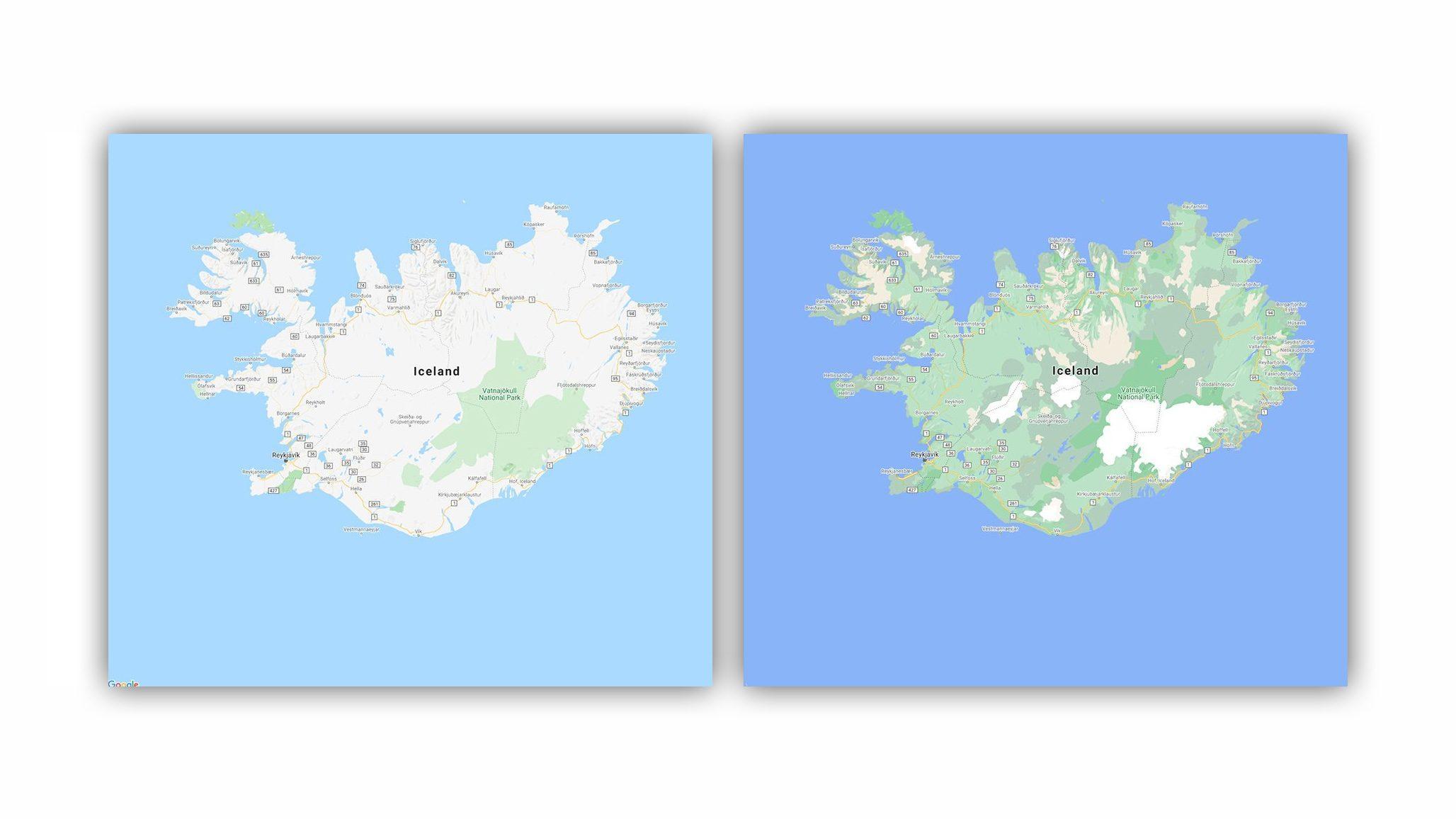 Voici Le Nouveau Google Maps, Ce Qui Change Dans Les