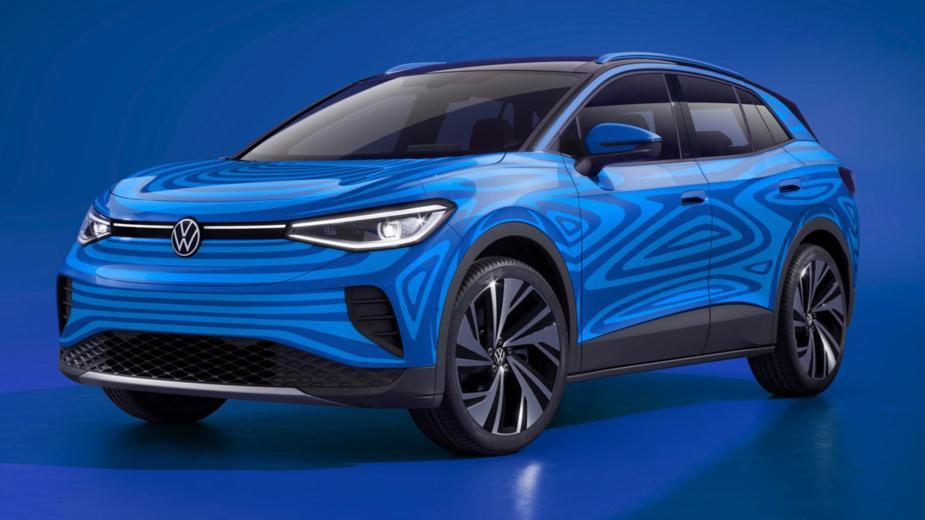 Id.4. Le Premier Suv électrique De Volkswagen Est Déjà En