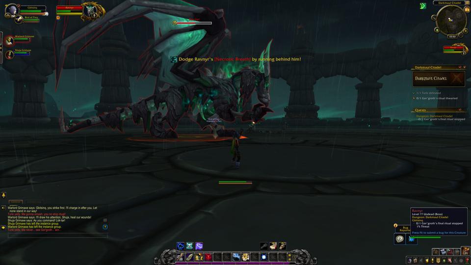 Combattre un dragon dans votre premier donjon, dans Exile's Reach.