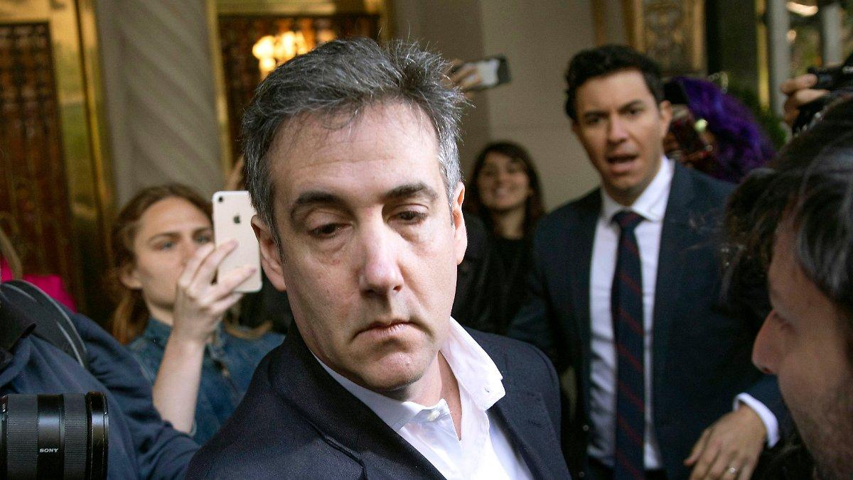 """Cohen Craignait D'être Découvert: Le """"rat"""" De Trump A Détruit"""