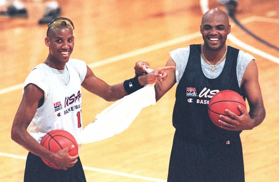 États-Unis Basketball Dream Team membres Reggie