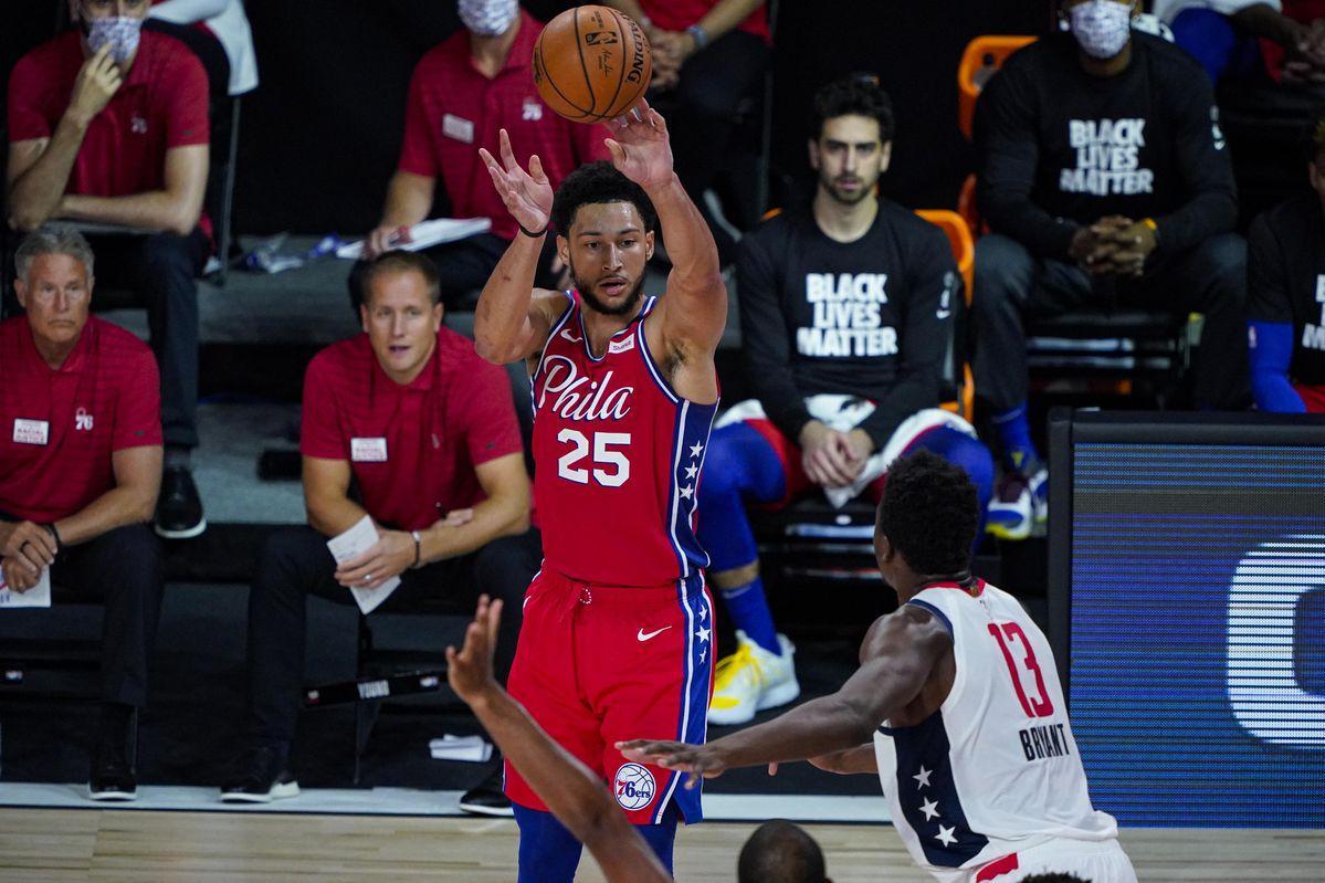 La Star Des Philadelphia 76ers, Ben Simmons, Est Le Dernier