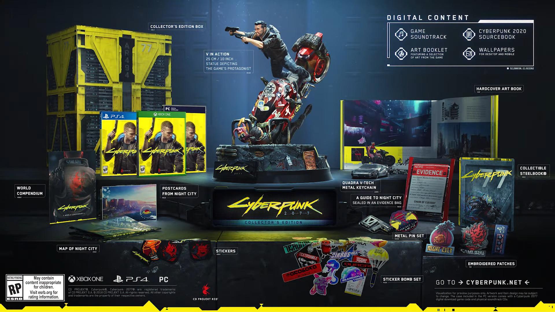 Cyberpunk 2077 - Collector