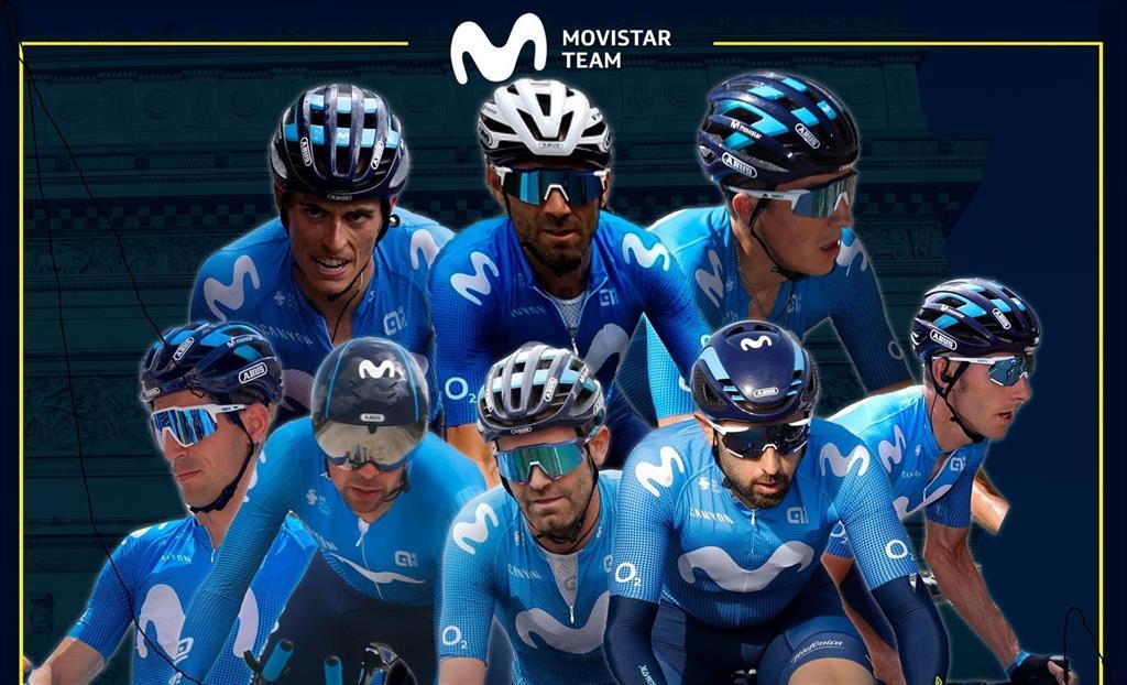 Valverde, Mas Et Soler Dirigeront Movistar Dans Le Tour