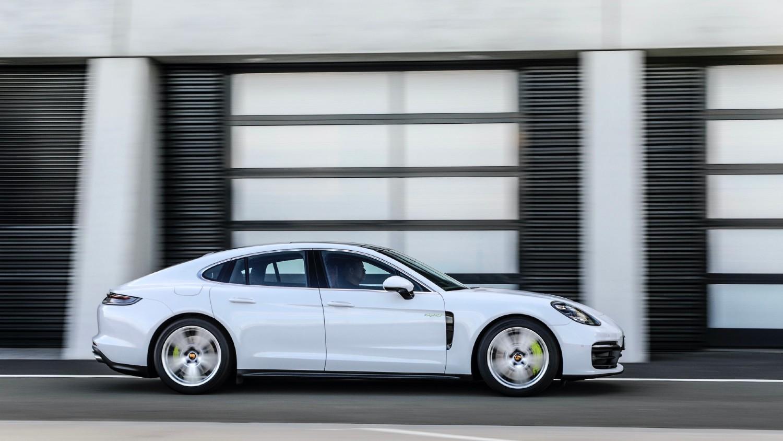 La Porsche Panamera 4S E-Hybrid