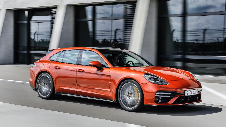 La Porsche Panamera Turbo S Sport Turismo