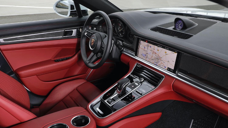 Intérieur de la Porsche Panamera 4S E-Hybrid