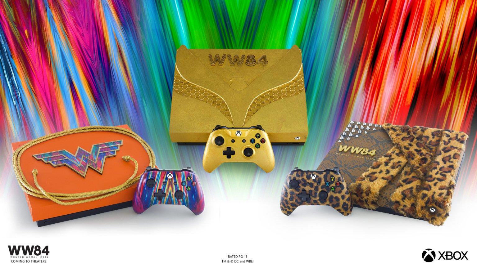 Xbox One X Wonder Woman 1984