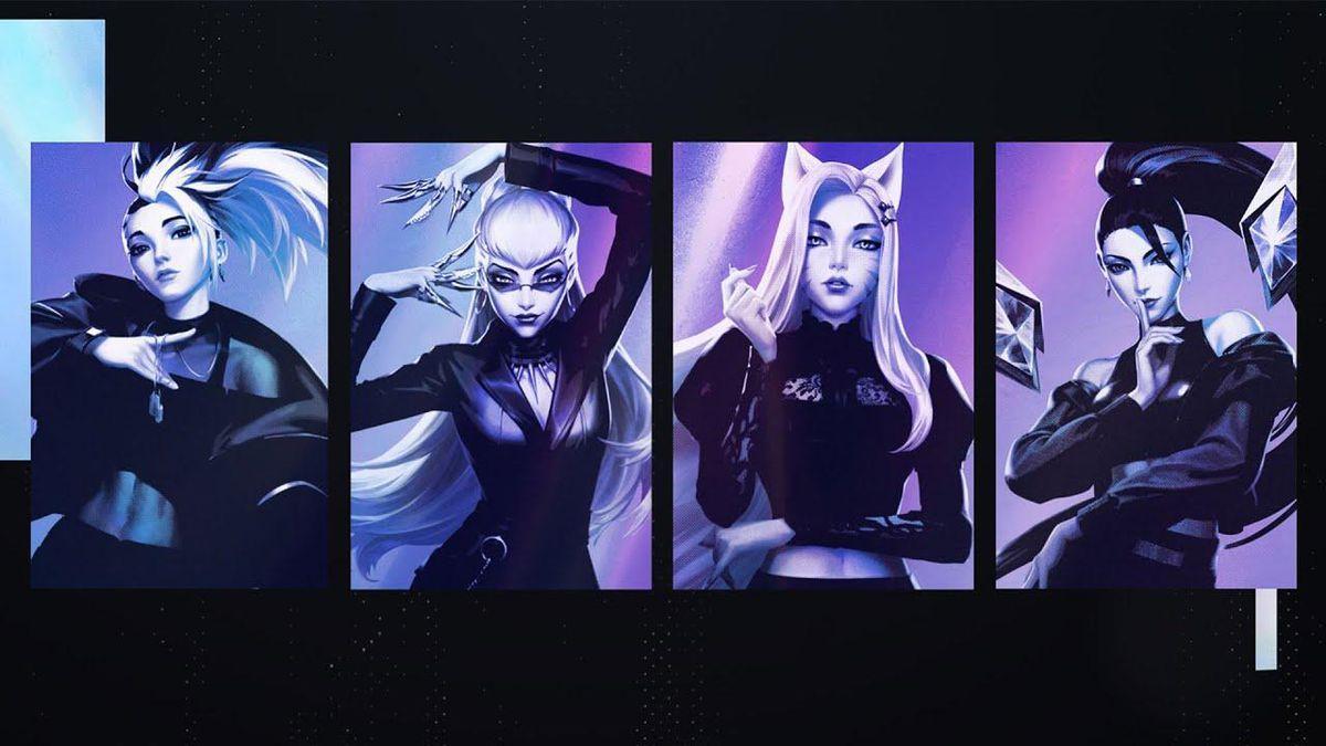 Le Groupe K / Da Pop De 'league Of Legends'