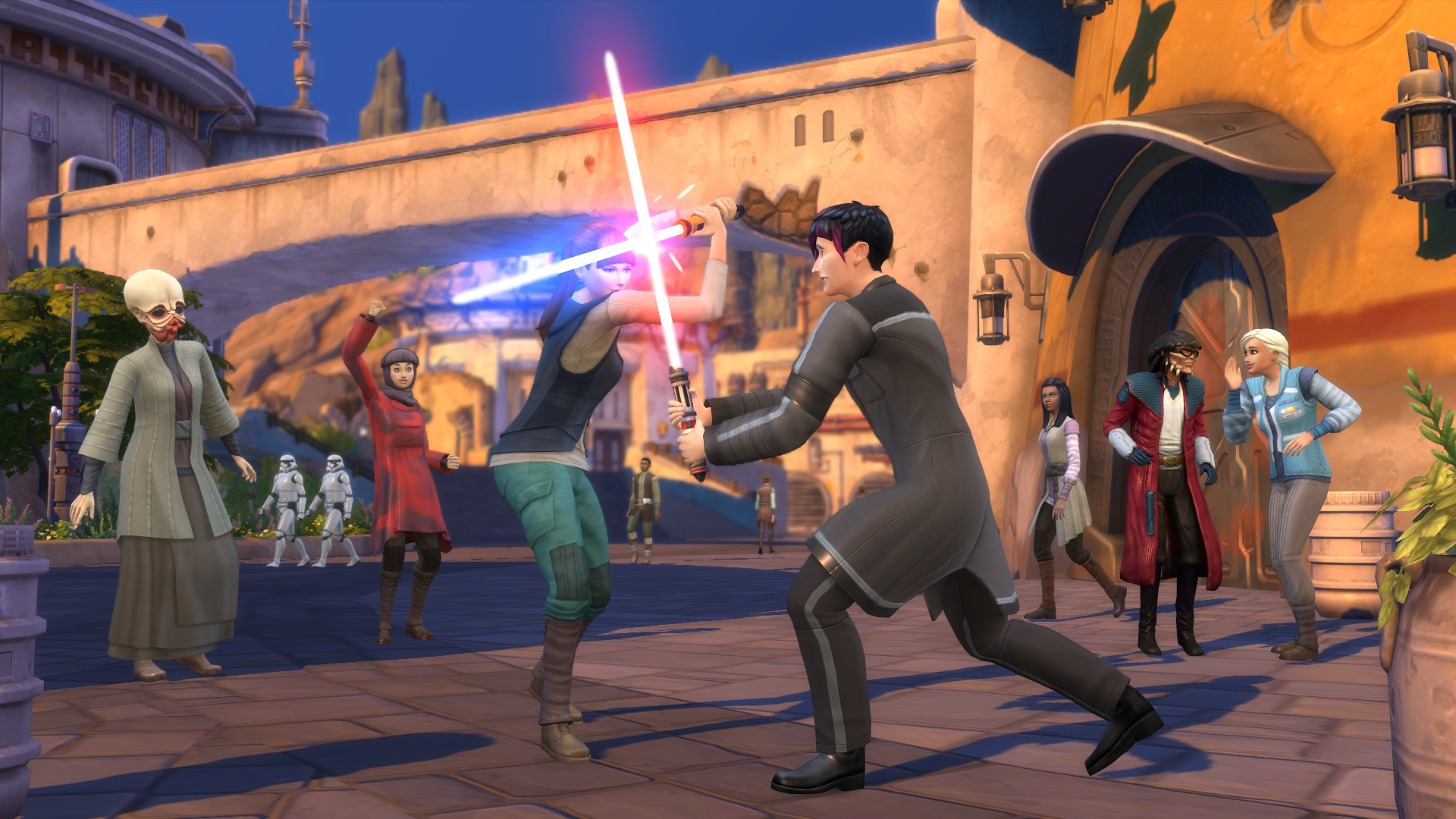 Les Sims 4 Journey to Batuu Lightsaber