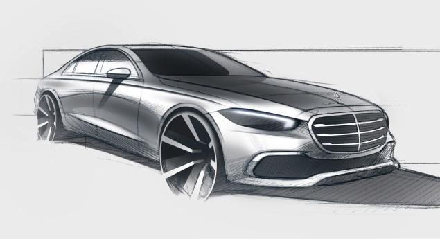 Mercedes Benz Classe S. Le Dernier Teaser Commence Le Compte à