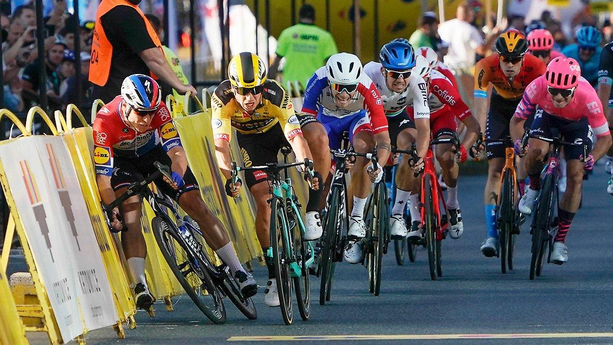Cycliste Professionnel Cousu Avec 130 Points: Jakobsen N'avait Plus Qu'une