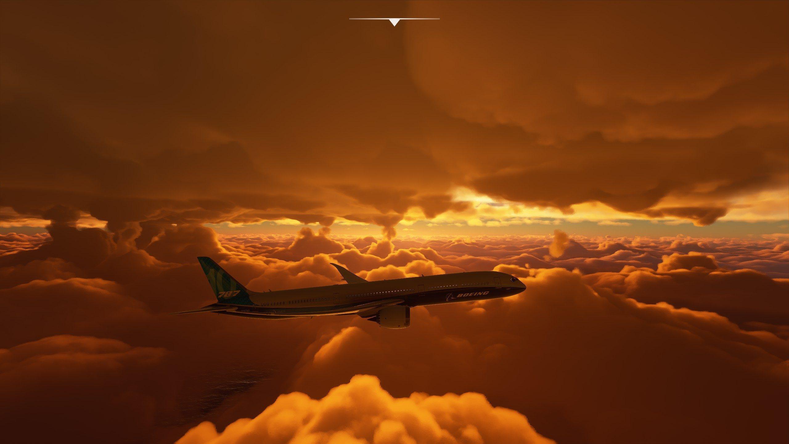 Les Joueurs De Flight Simulator Volent Dans L'ouragan Laura