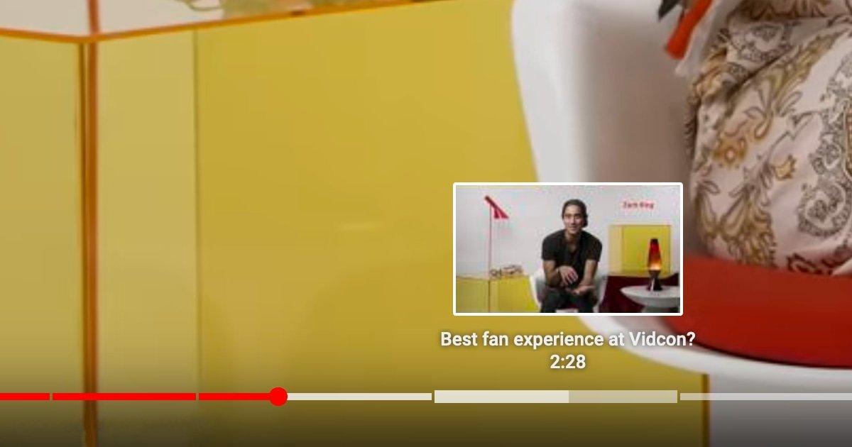 Les Nouveaux Chapitres Vidéo De Youtube S'appuient Sur Des Signets