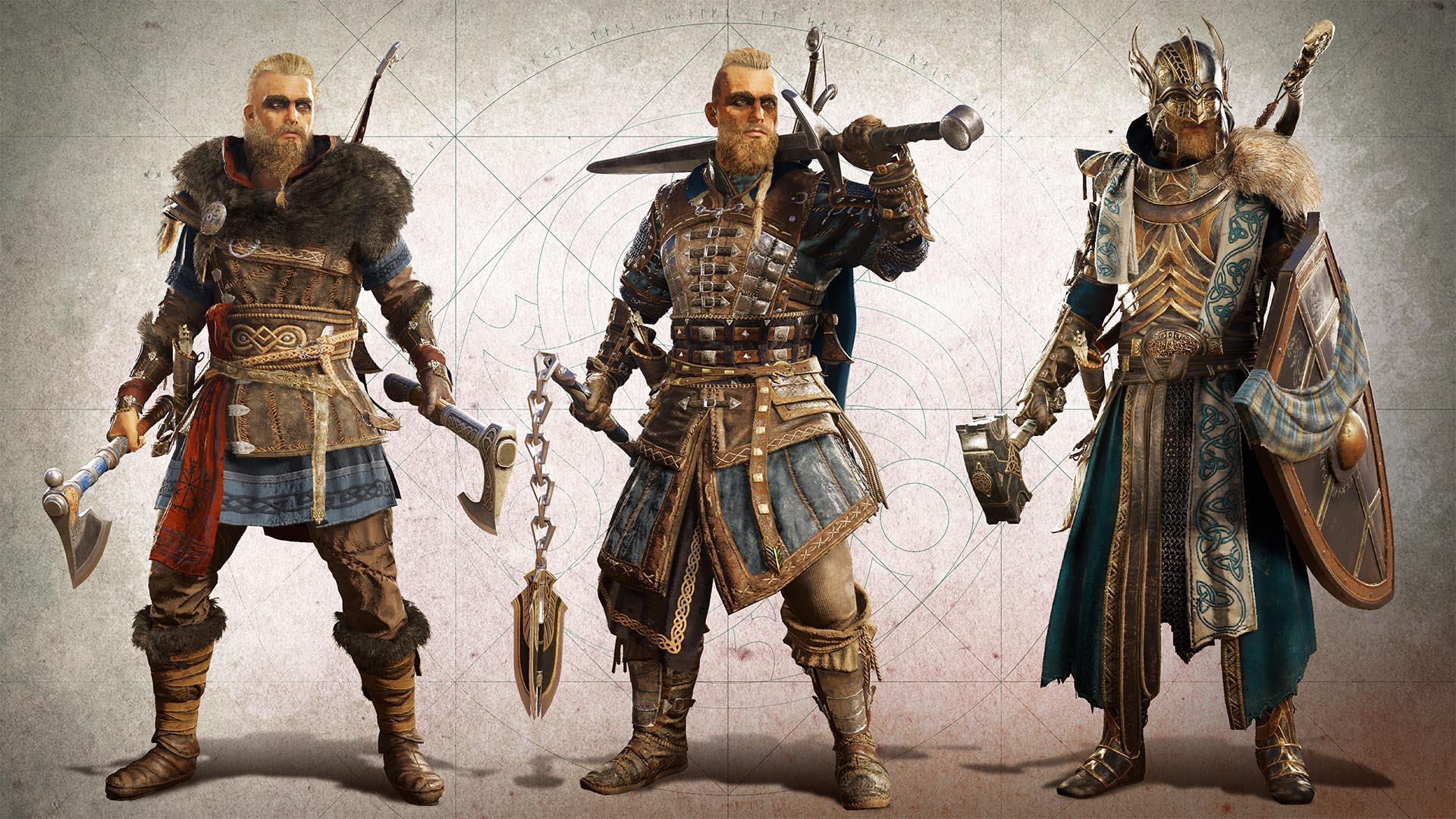 Les éditions Collector D'ac: Valhalla, Wd: Legion Et Far Cry