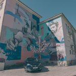 Villes D'art Seat. L'itinéraire National Du Street Art Arrive à