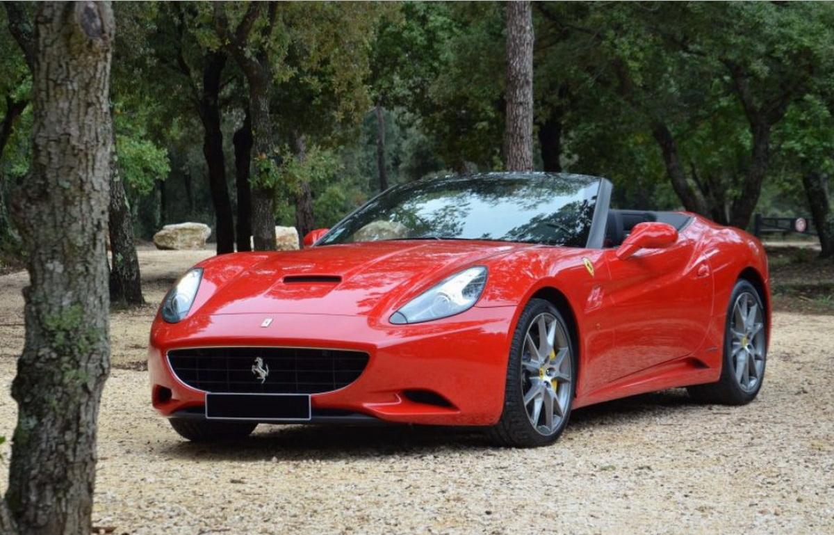 Boîte manuelle Ferrari California