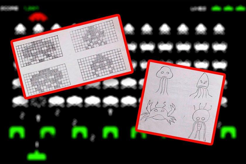 Papier millimétré, crayon et mer: ce que les croquis originaux de 'Space Invaders' disent du jeu