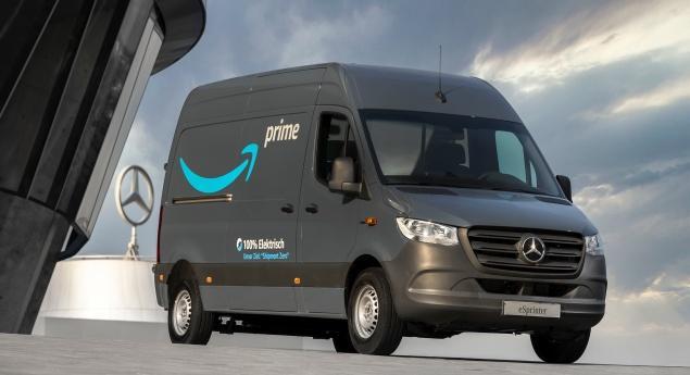 Amazon Commande 1800 Publicités électriques à Mercedes Benz