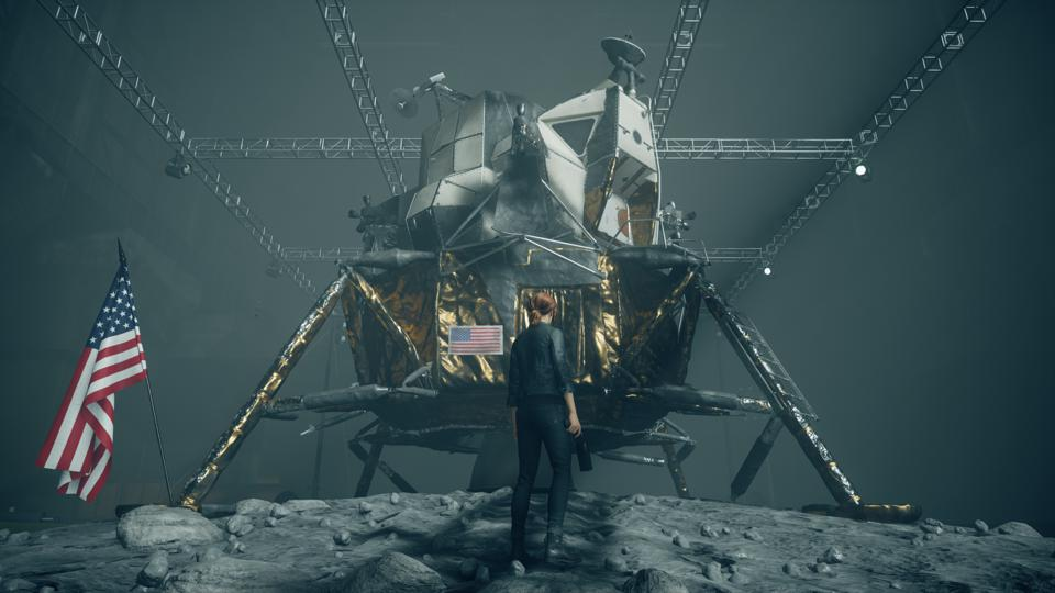 L'atterrisseur lunaire Apollo 14 dans Control AWE
