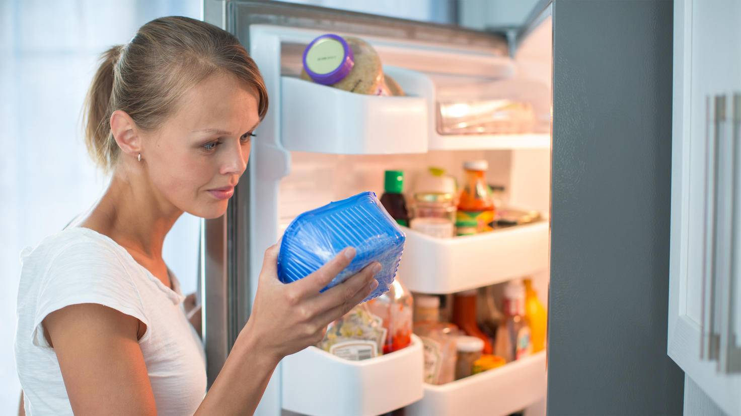 Les aliments stockés dans la zone de 0 degré resteront frais plus longtemps.