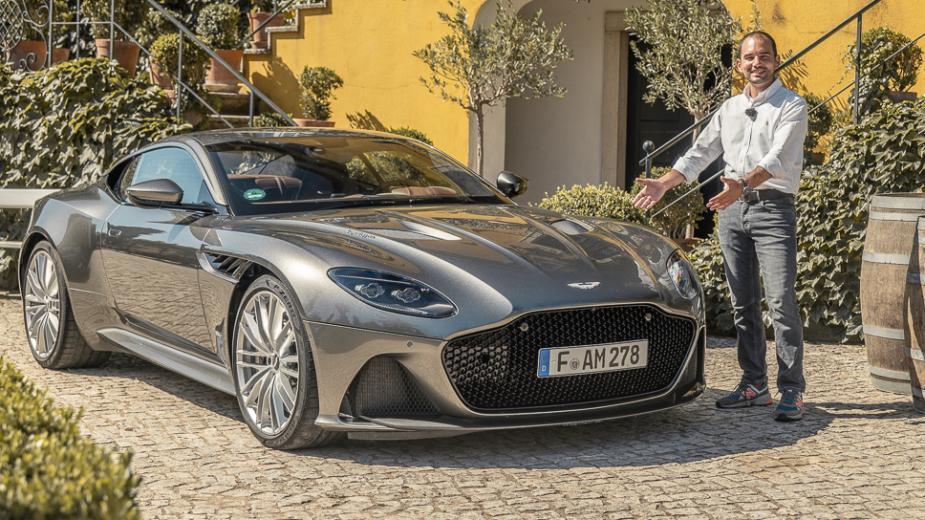 Aston Martin Dbs Superleggera (725 Ch). La ChaÎne La Plus