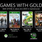 Vote: Que Pensez Vous Des Games With Gold En Septembre?