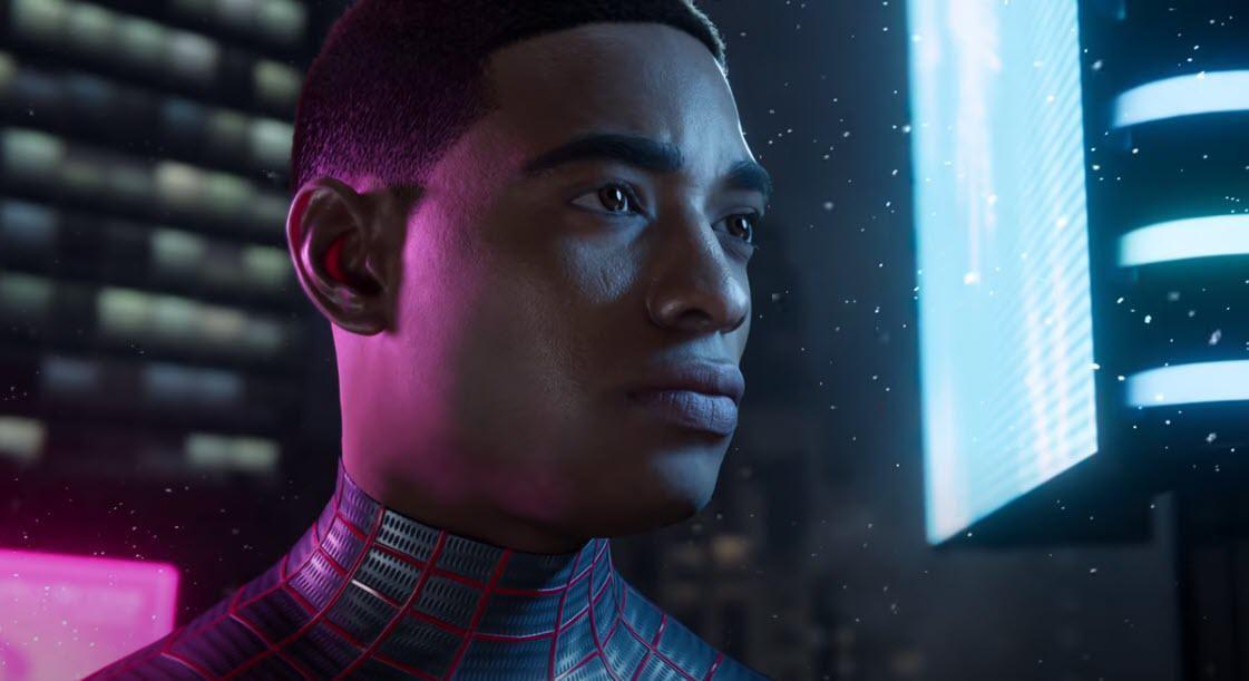 Où Est `` Spider Man: Miles Morales '' Sur Ps5, Le