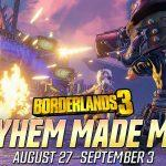 Le Nouvel événement `` Easy Mayhem '' De Borderlands 3