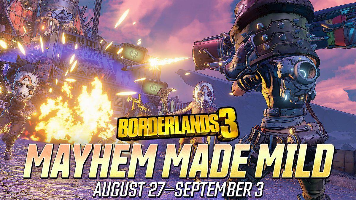 Le Nouvel événement `` Easy Mayhem '' De Borderlands 3