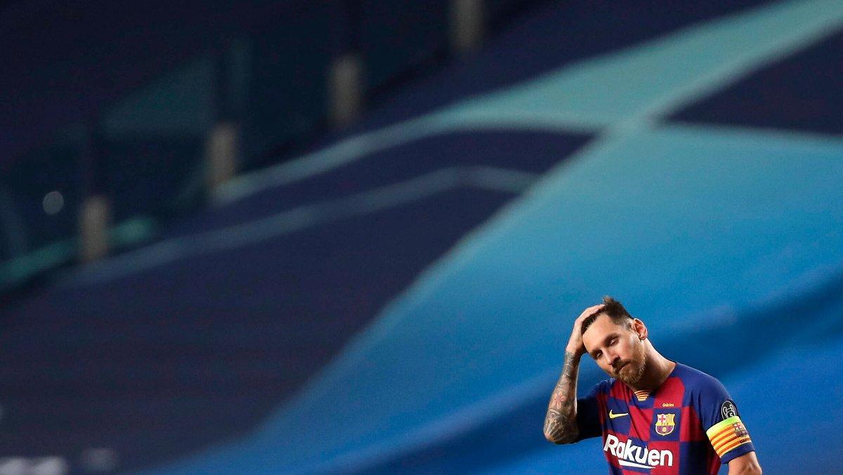 """""""il Part En Guerre"""": Messi Frappe Le Fc Barcelone"""