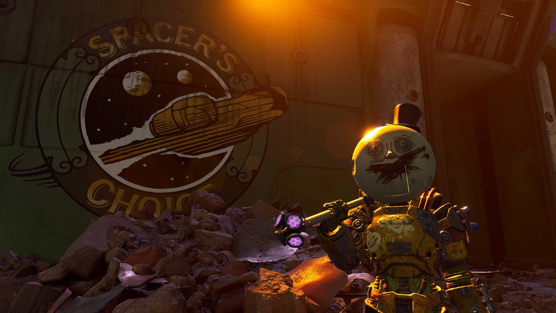 Nouveau Gameplay Brutal De Outer Worlds: Peril On Gorgon