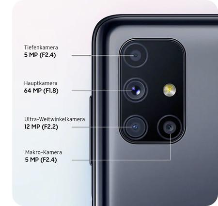 Appareils photo Samsung Galaxy M51