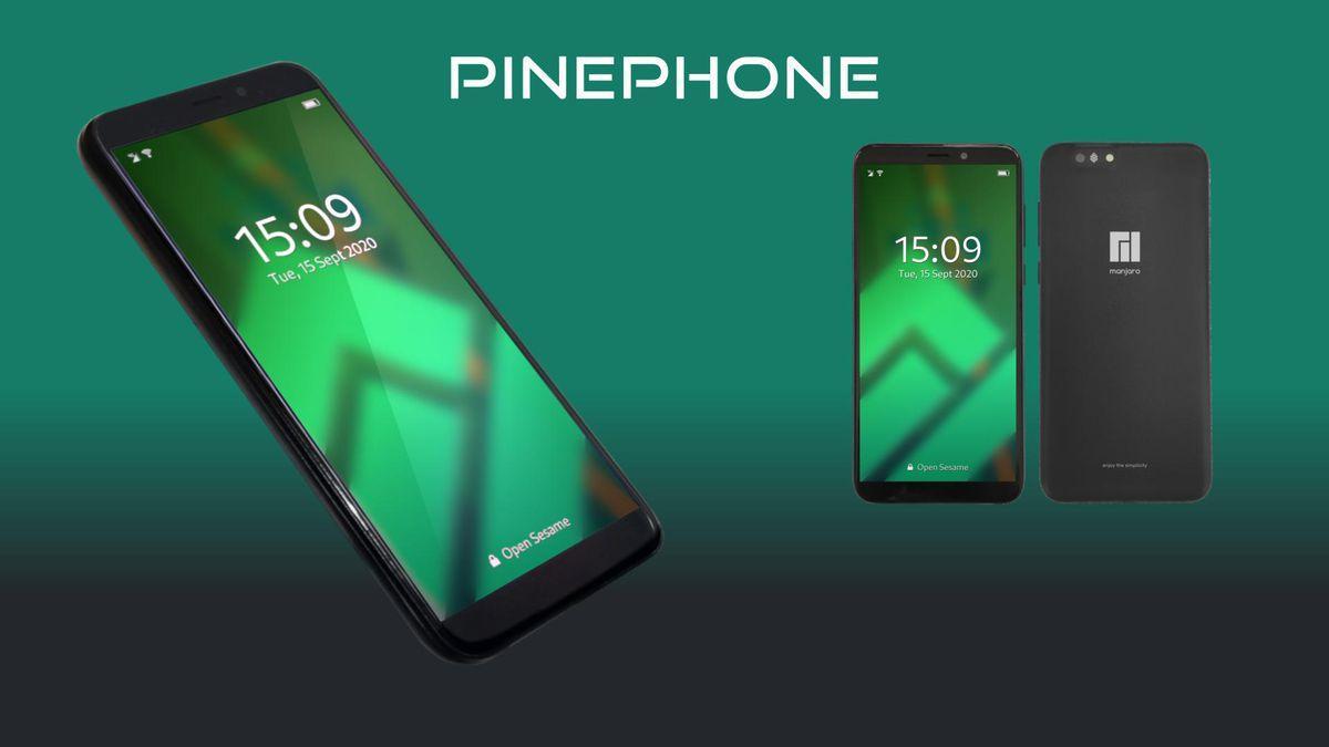 Découvrez Le Nouveau Téléphone Pinephone édition Communautaire De Manjaro, à