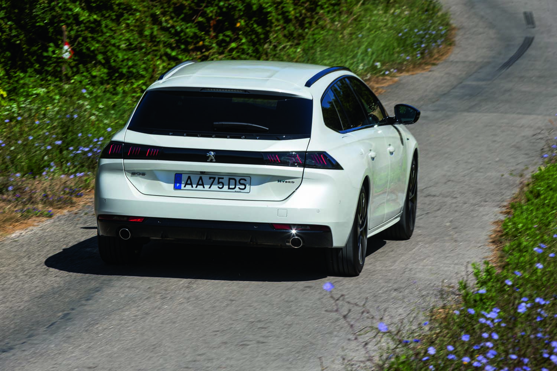 Peugeot 508 SW Hybrid arrière