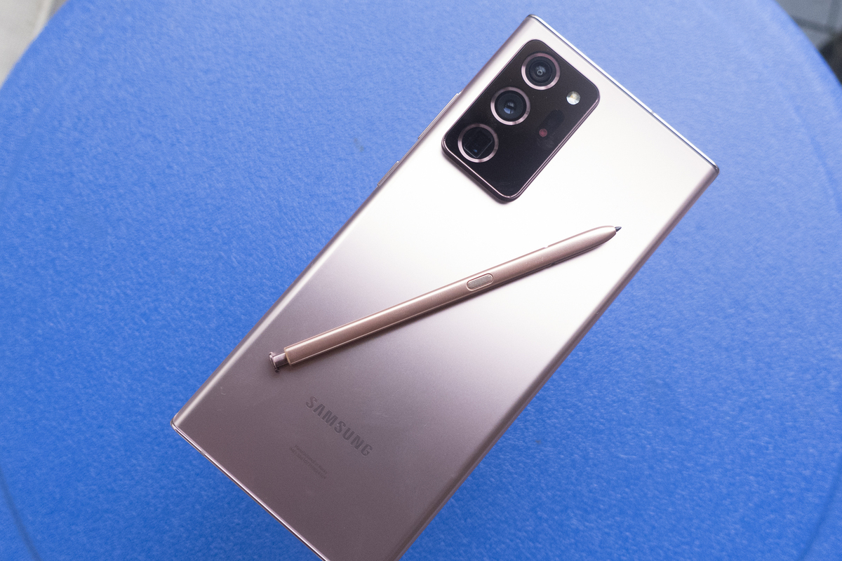 note 20 ultra bronze
