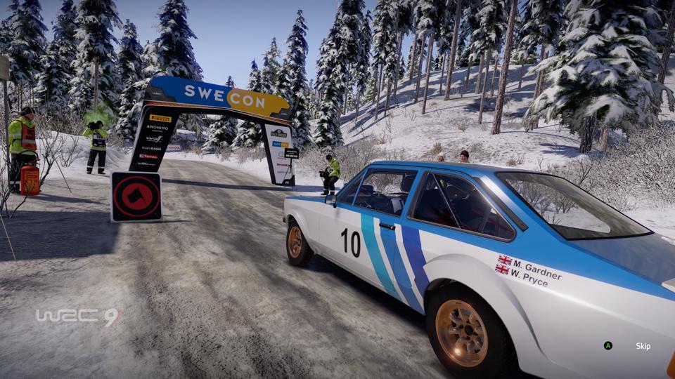 La Ford Escort MkII en WRC 9