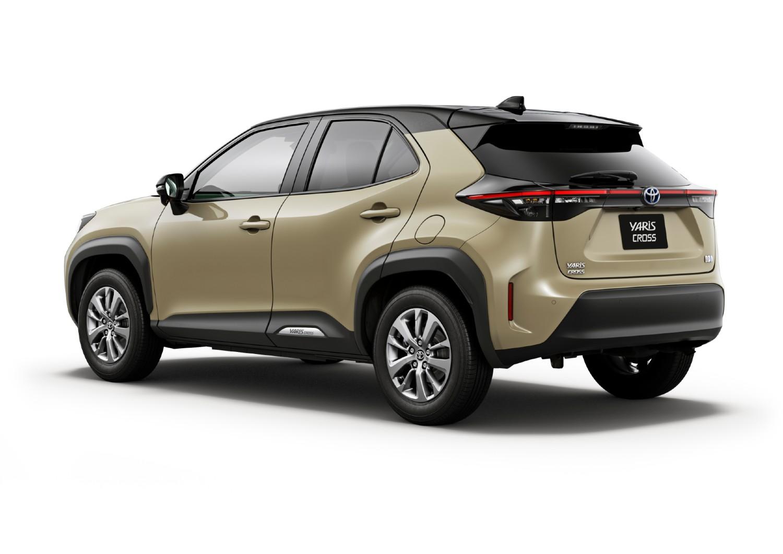 La Toyota Yaris Cross en version intermédiaire