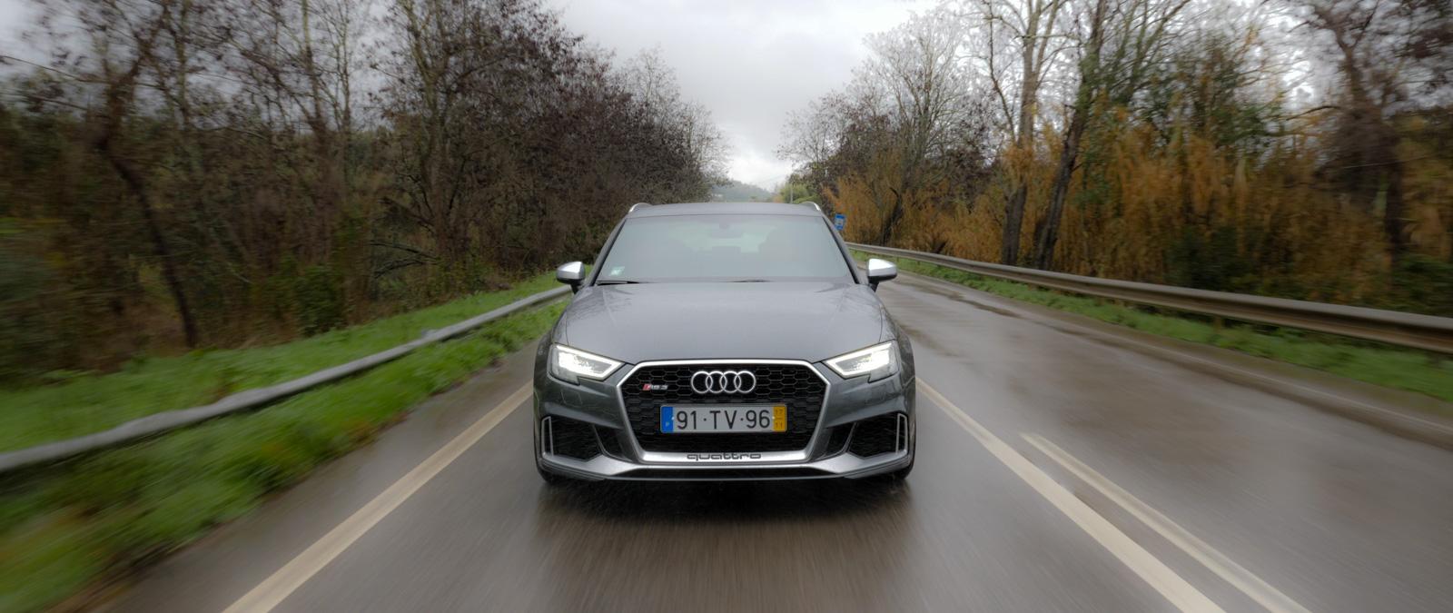 AVIS DE TEST Audi RS 3 PORTUGAL