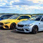 Bmw M2 Cs Contre Mercedes Amg A 45 S Et Audi