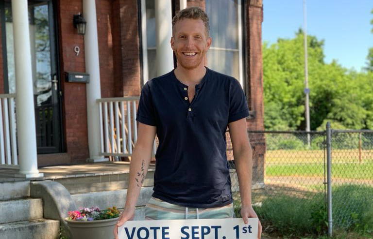 Alex Morse maire du Congrès Massachusetts