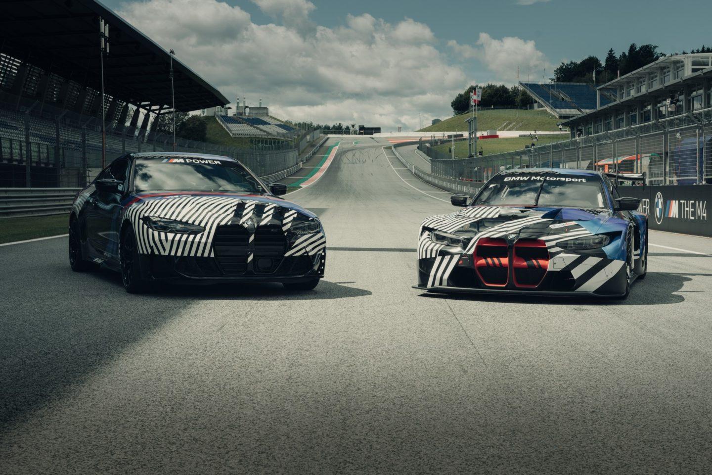 BMW M4 et M4 GT3